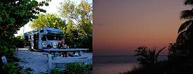 Start zur RV-Tour auf den Florida Keys