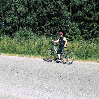 Aufbruch zur Radtour