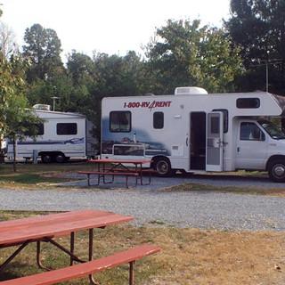 Washington - Camp am Rande der Großstadt