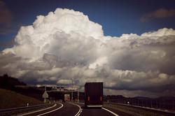 Fahrt von der Slowakei nach Polen