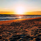 Sonnenuntergang in der Ostsee
