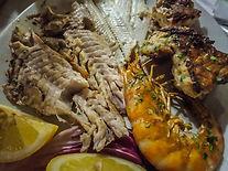 Besuch im Fisch-Restaurant