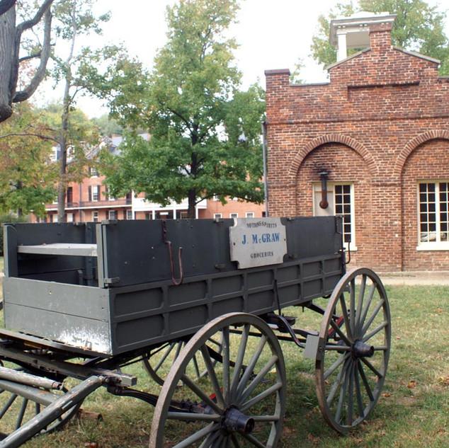 Idylle aus der Bürgerkriegszeit