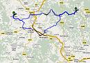 Route Toskana