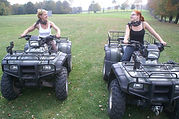 Ladies on Quad