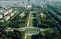 1980 Paris - Blick vom Eiffelturm