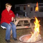 Lagerfeuer im Amish-Camp