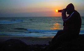 Jagd nach dem Sonnenuntergang