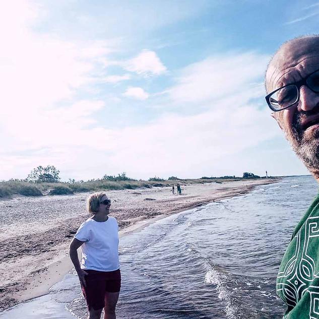 Erster Strandspaziergang