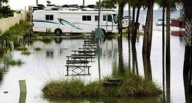 """Land unter"" in Florida"