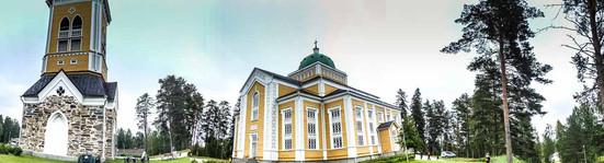 Größte Holzkirche der Welt in Kerimäki