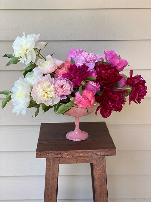 Mixed Peony Bouquet (June)