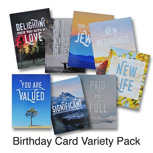 Birthday Card Variety Packages