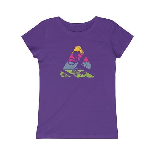 Girls Mountain Biker Princess Tee