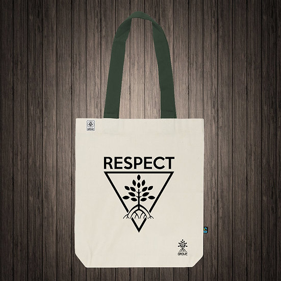 "Reusable Bag ""Respect Trees"""