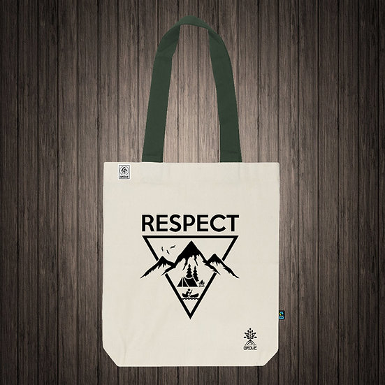 "Reusable Bag ""Respect Nature"""