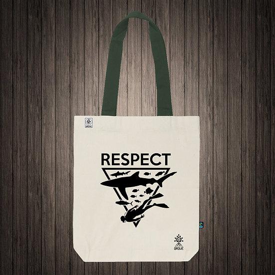 """Reusable Bag """"Respect Ocean"""""""