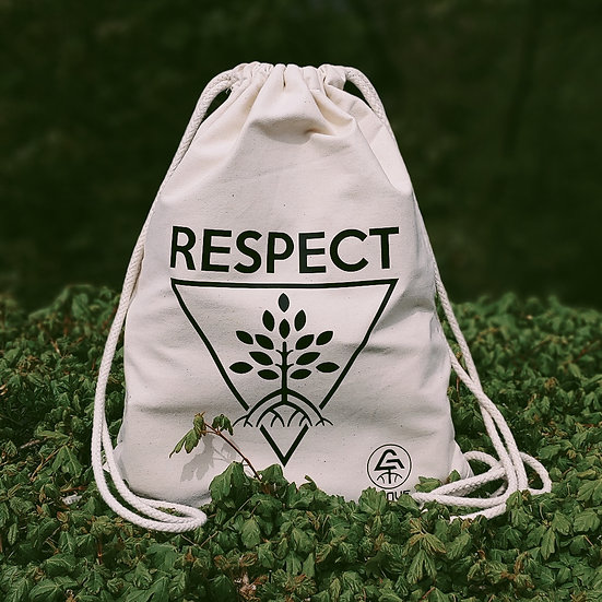 "Drawstring Bag ""Respect Forest"""