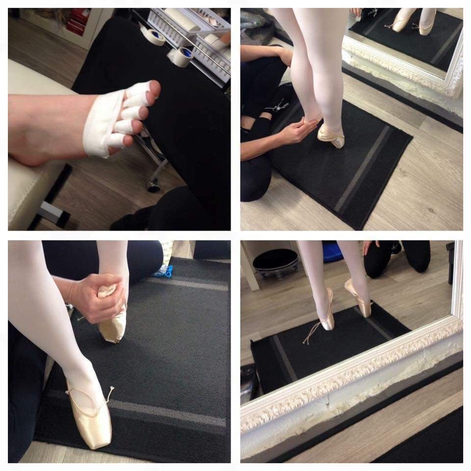 A Dancer's First Pointe Shoe Fitting