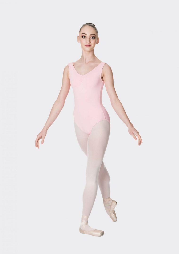Ballet Pink Studio 7 Premium Thick Strap Leotard