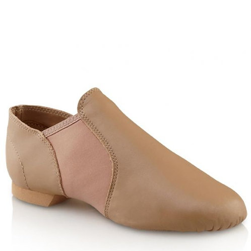 Tan Capezio E-Series Jazz Slip On - Adult