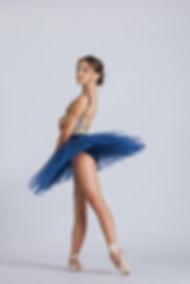Ballarina wearing a tutu