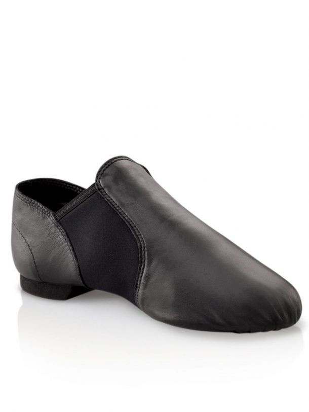 Black Capezio E-Series Jazz Shoe