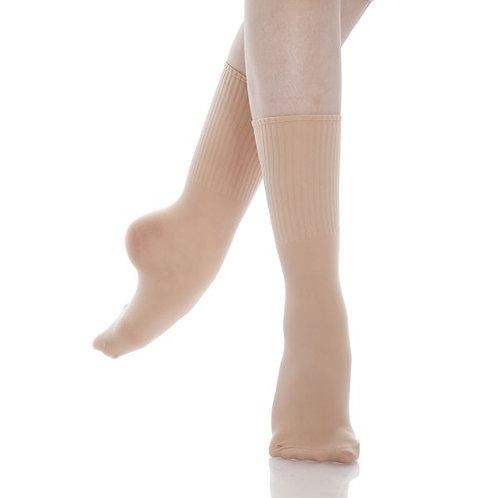 Salmon Pink Energetiks Dance Socks