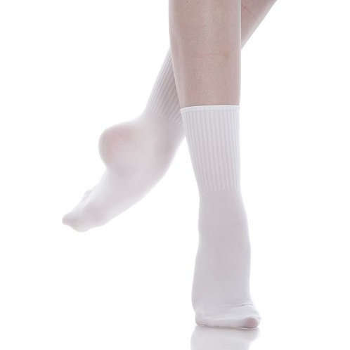 White Energetiks Dance Socks