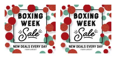 Boxing Week Sale x2