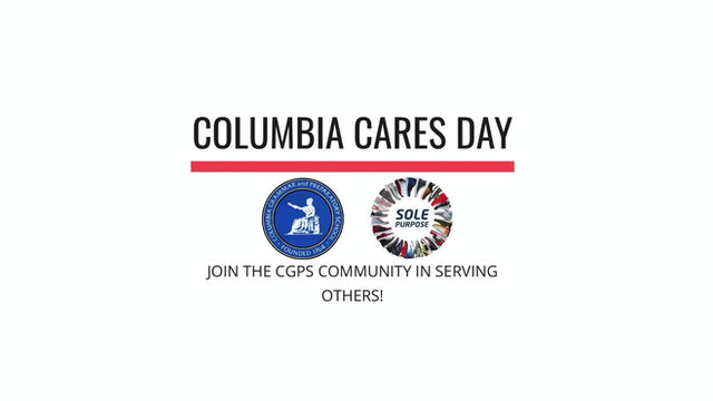Columbia Grammar Prep School Joins Forces With Sole Purpose To Host Columbia Cares Day.