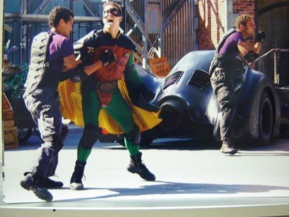 """Robin"" in Batman vs. Catwoman"