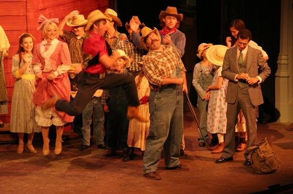 "Will Parker in ""Oklahoma"""