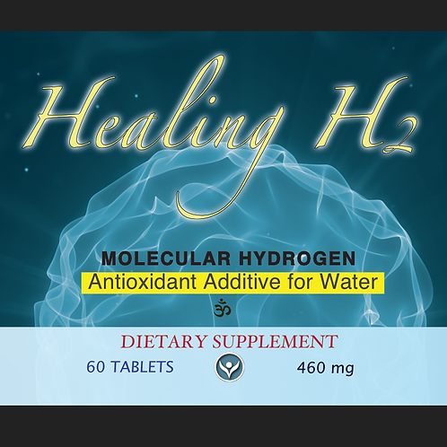 2 pack - Healing H2 Tablets (60ct/bottle, total 120ct))