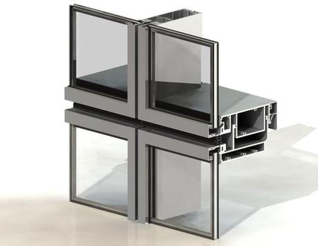 3D Model Curtain Wall