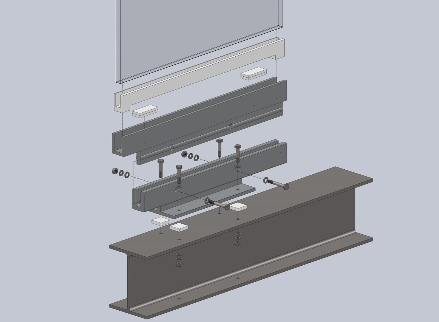 Glass Fin 3D Model