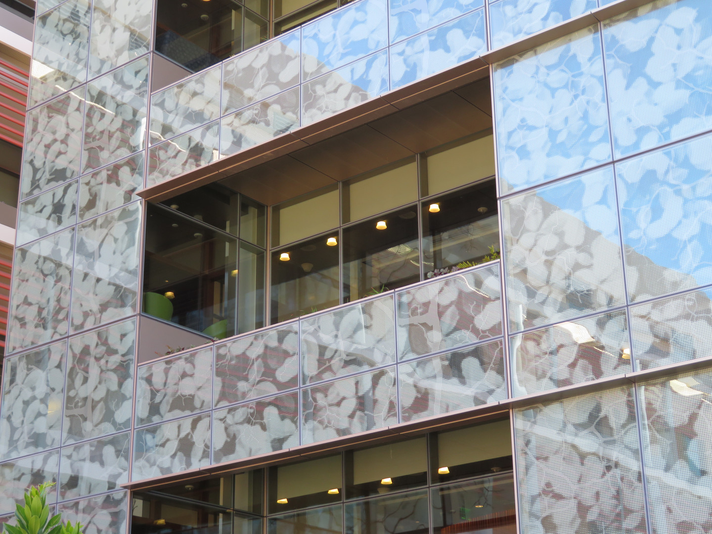 Unitized Curtain Wall (SSG) with insets