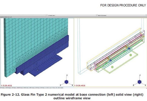 Glass Fin Structural Analysis