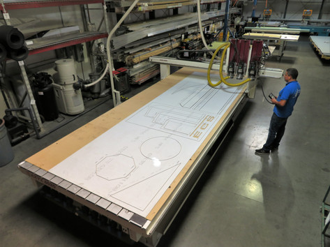 CNC Cutting and Routing of ACM Panels