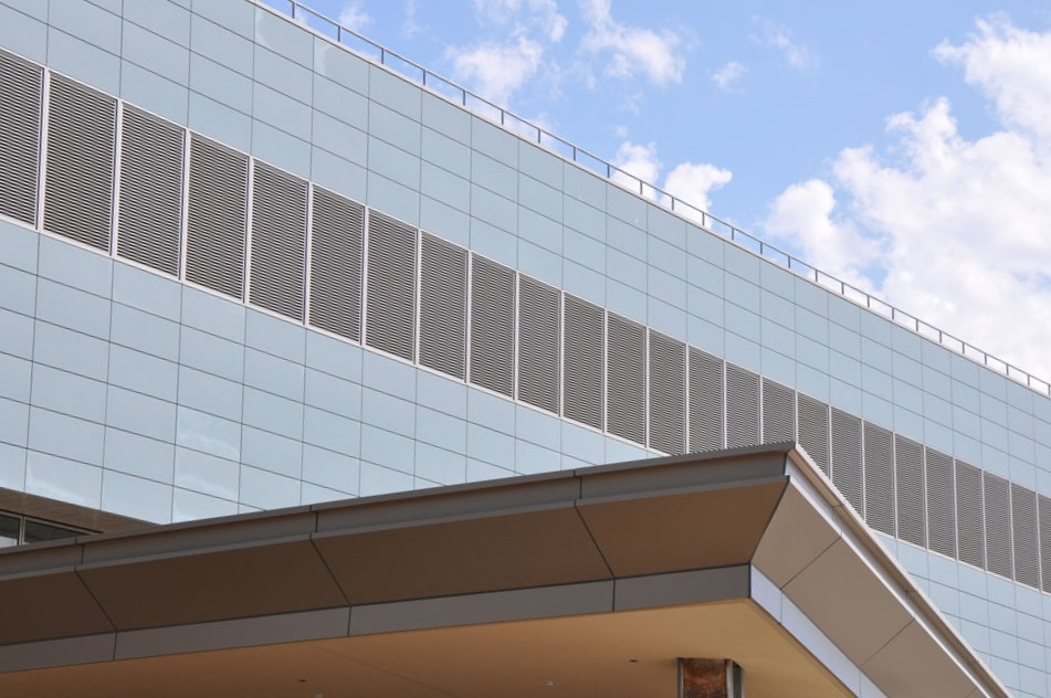 FRCP Panel Systems and Louvers