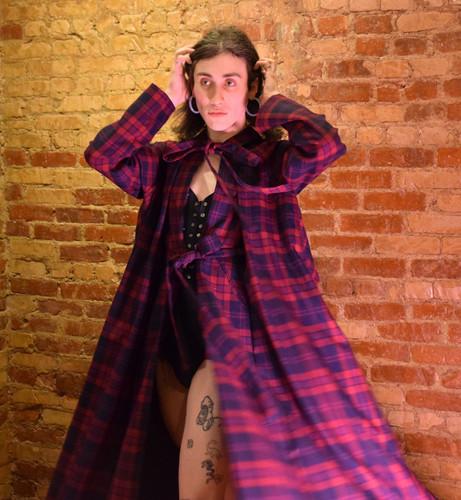 Tucking Bodysuit and Cloak Twirl