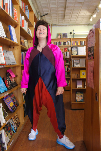 Jumpsuit at Bluestockings 2