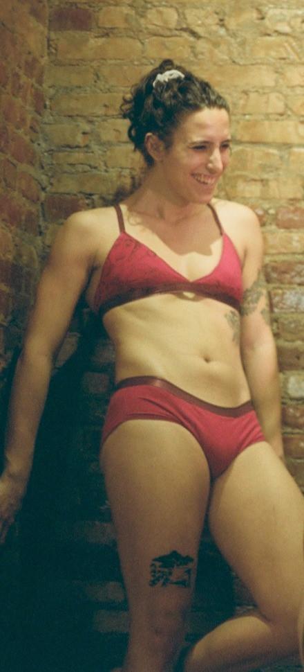 Tucking Underwear and Bra Front