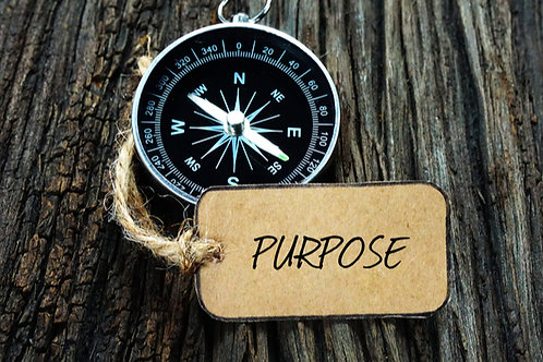 Discovering your Purpose coaching