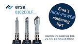 Ersa soldering tips – asymmetric 0102CDL
