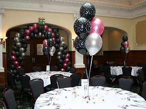 30th Birthday Helium Balloon Table Decorations Are Perfect For Centres We Will Set Up