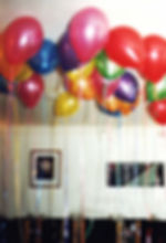 Childrens birthday party helium balloons harrogate