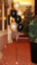 Helium party balloons for your Christmas Party or New years Eve party, we will fully decorate your Hotel, or venue