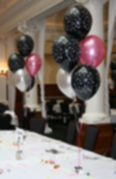 bring your School prom or leavers party to life with colourful helium balloons