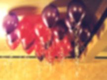 helium balloons, 21st birthday party celebration leeds